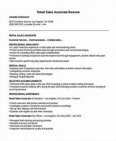 Retail Sales Associate Resume No Experience Get The Call Of Interview With These Sales Associate