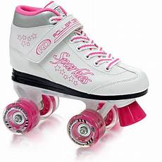 Roller Skates With Lights In Wheels Roller Derby Girls Youth Sparkles Lighted Wheel Quad