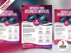 Free Flyer Making Software Software Solution Business Flyer Psd Psdfreebies Com