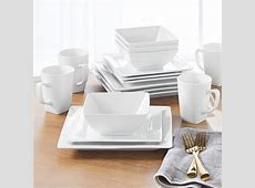 Better Homes & Gardens 16 Piece Square Dinnerware Set