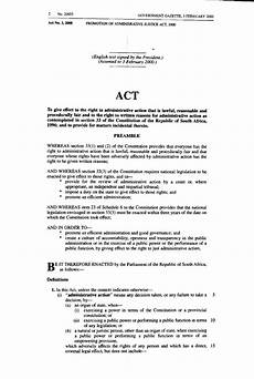 Administration Of Justice Act Page Promotion Of Administrative Justice Act 2000 Djvu 2