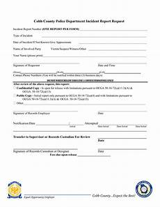 Police Incident Report Template Blank Police Incident Report Templates At