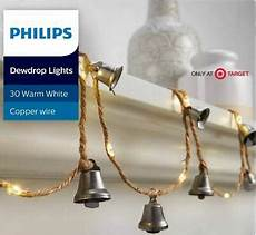 Philips 30ct Christmas Battery Operated Led Dewdrop Fairy String Lights Philips 30ct Battery Operated Led Dewdrop With Weathered