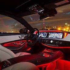 First Car With Ambient Lighting Mercedes S Class Ambient Lighting The Garage