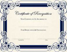 Blank Certificates Templates Free Printable Certificate Templates For Teachers Bestte