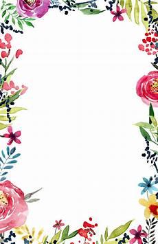 Design Printable Invitations Floral Borders Invitations Free Printable Invitation