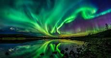 Solar Northern Lights Northern Lights Illuminate The Night Sky As Sun Unleashes