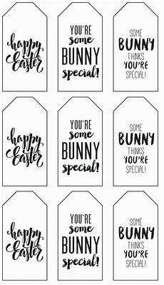 Christmas Labels Black And White Printable Little Easter Gift Tags Make Cute Favors