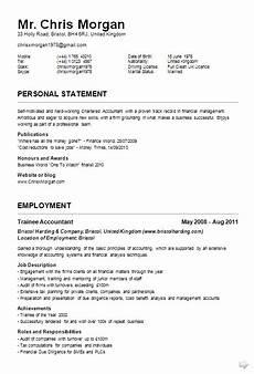 Sample Curriculums Curriculum Vitae Examples Jobcred Blog