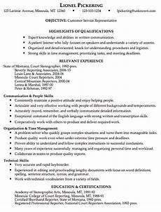 Resume Templates For Customer Service Representatives Combination Resume Sample Customer Service Representative