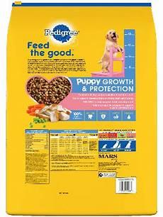 Pedigree Puppy Feeding Chart Food For Puppies Chicken Flavor Puppy Food Pedigree 174
