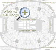 Wwe Dallas Seating Chart At Amp T Stadium Seat Amp Row Numbers Detailed Seating Chart