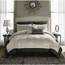 king size comforter set beige brown 8