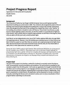 Project Reports Format Free 29 Sample Project Reports In Pdf Ms Word Pages