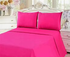 tache cotton pink flat sheet bs3pc pi tache home
