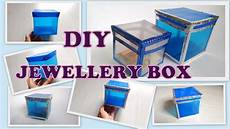diy box how to make storage jewellery box from plastic sheets