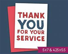 thank you card template for veterans veterans day printable card thank you for your service note
