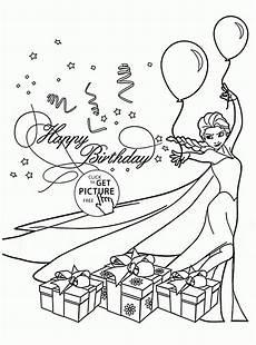Ausmalbilder Geburtstag Ausdrucken Birthday Card Coloring Page At Getcolorings Free