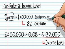 Calculate Cap Rate How To Figure Cap Rate 6 Steps With Pictures Wikihow