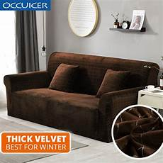plush fabric 1 2 3 4 seat sofa cover cover thick