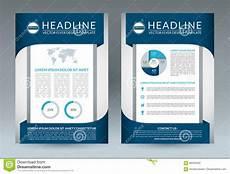 Handbill Size Brochure Flyer Design Layout Template A4 Size Stock