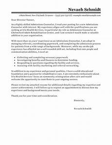 Recruiter Cover Letter Sample Admissions Recruiter Cover Letter Images Cover Letter