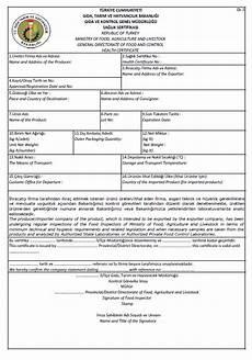Health Certificate Sample Health Certificate Letterofcredit Biz Lc L C