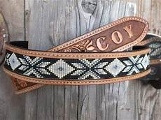 mens or beaded leather belt