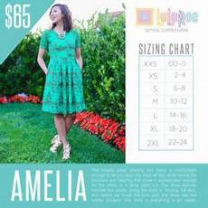 Amelia Size Chart Here Is The Sizing Chart For The Lularoe Amelia Dress