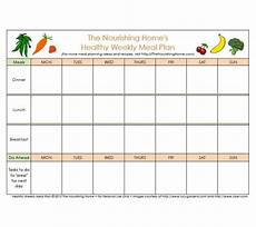 37 weekly planner template meal others templates study