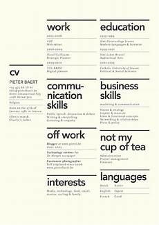 Good Looking Resume Designs Dissecting The Good And Bad Resume In A Creative Field