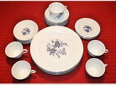 Wedgwood Royal Blue Ironstone 33 Piece China Set Dinner