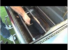 Gas Grill Cleaning Tips   Weber Grills   YouTube