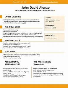 How To Create A Proper Resume Create A 3 Resume Format Sample Resume Format Basic