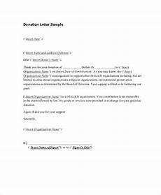 Thank You For Your Donation Letter Template 14 Sample Thank You Letters For Donations Doc Pdf