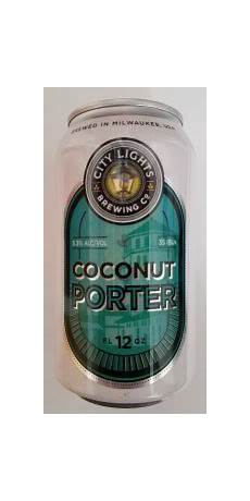 City Lights Coconut Porter Coconut Porter City Lights Brewing Co Beeradvocate