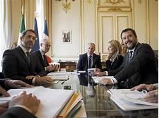 ministri dell interno italiani salvini castaner freddezza su migranti ed ex br al g7 dei