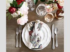 Charlotte Dinner Plate   Pottery Barn