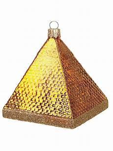 Pyramid Christmas Ornament Khufu S Great Pyramid Giza Egypt Polish Glass Christmas