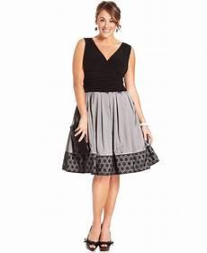 Sl Fashions Dress Size Chart Sl Fashions Plus Size Dress Sleeveless A Line Ruched