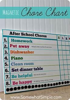 How To Make A Creative Chart 15 Easy Chore Charts