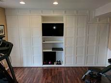 ikea hack for wall to wall cabinet curious roy