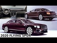 2020 bentley flying spur new bentley flying spur 2020 exterior interior tour