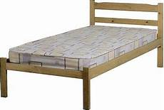 panama single 3ft solid distressed wax pine wood bed frame