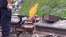 Thermite Welding Thermite Welding Youtube