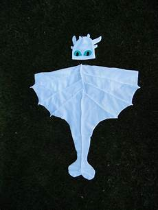 Light Fury Onesie Complete Light Fury Dragon Costume Cape And Hat How To