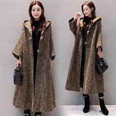 coats mujer hooded woolen coat thick parka coats