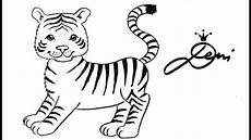 tiger schnell zeichnen lernen f 252 r kinder how to draw a