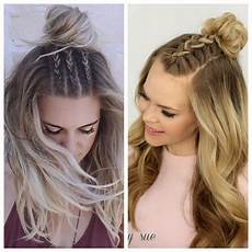 simple and easy half up hairstyles for weddings hair