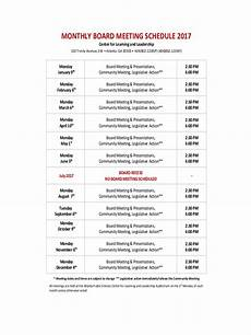 How To Make Schedules 14 Meeting Schedule Examples Amp Samples In Editable Pdf